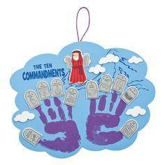Ten+Commandments+Handprint+Craft+Kit+-+OrientalTrading.com