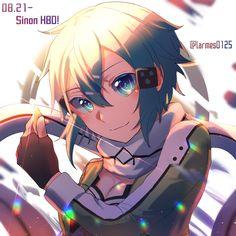 Sinon Ggo, Kirito, Sao Characters, Asada Shino, Sword Art Online Wallpaper, Birthday Wallpaper, Amazing Pics, Neko, Online Art