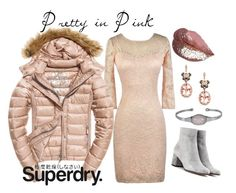 """""""The Cover Up – Jackets by Superdry: Contest Entry"""" by lilyboutique ❤ liked on Polyvore featuring Fuji, Superdry, Gianvito Rossi, Effy Jewelry and LilyBoutique"""