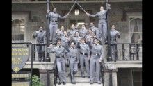 The United States Military Academy at West Point, N.Y. has launched an inquiry into an image shared on social media that shows 16 black, female cadets in uniform with their fists raised. The image has sparked questions about whether it violates restrictions on political activity.