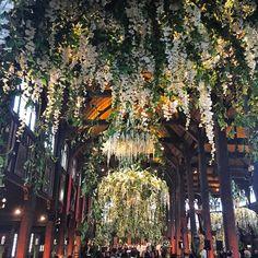 The garden of Eden : Celebrating the beautiful union of #NoorAndAlex #Noormandie @alexinnoormandie