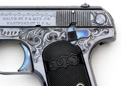 Colt Pistols and Revolvers for Firearms Collectors - Gun of the Month - April 2007