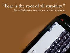 Past Forward- A Serial Novel: Episode 9