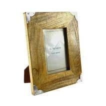 Brown Wooden Cargo Photo Frame