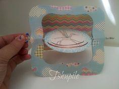 tshupile: Curious Things twisted card - the tutorial. דברים מסקרנים - הדרכה - כרטיס מסתובב.