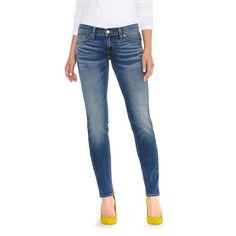 Women's Levi's 524 Skinny Jeans, Size: