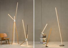 """Stickbulb"" lights by New York-based RUX Design. There is a whole series -- see the post."
