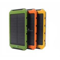 New Real 10000 mAh Portable Solar Charger Power Bank with 6 LED Panel Mobile Phone Power Charging Solar Camping Lights Solar Camping, Camping Lights, Banks Building, Solar Charger, Led Panel, Lead Acid Battery, Walkie Talkie, Solar Power, The 100