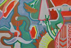 KORZH Taras, Ukraine, 2015, Acrylic on canvas, 75 x 110