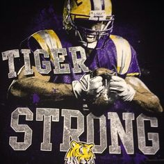 Tiger Strong! Photo taken by @dsdoyle on Instagram, pinned via the InstaPin iOS App! (09/06/2014)