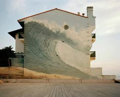Surf Mural. @Kristy Edwards