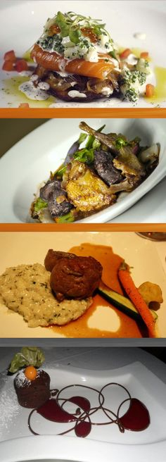 Aix Cuisine du Terroir- Réputé pour sa fine cuisine du terroir québecois et pour cuisiner selon les produits saisonniers.     Aix Cuisine du Terroir- Known for its fine cuisine based on local produce and for using a variety of seasonal products.