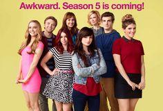 Yaaayyy !! MTV Awkward Season 5!!