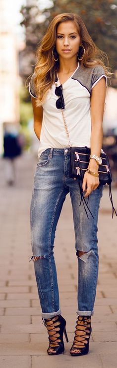 Casual Street Style byKenzas -- 60 Great New Winter Outfits On The Street - Style Estate -