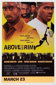Above The Rim poster, t-shirt, mouse pad Some Games, Games To Play, Duane Martin, Above The Rim, Bernie Mac, Marlon Wayans, Movie Decor, New Line Cinema, Tupac Shakur