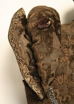 1570-80 Jerkin Close up of Sleeve detail At the Met!
