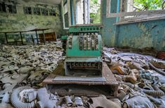 30 Photos of the Most Haunting Abandoned Places on Earth Pripyat, Ukraine
