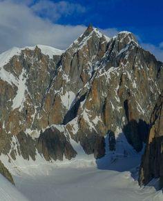 Dimanche dernier avec Jean Pierre nous sommes partis se promener sur l'arête Kuffner au Mont Maudit. Pour Jean Pierre c'était un retour à la montagne. Absent du monde de la montagne pour cause d'opération à l'épaule il y a seulement 3 mois, l'idée était...