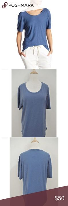 NWT James Perse relaxed T-shirt Brand new and so soft! Great with denim cut off shorts. Size 1 is like a S. Fits loose James Perse Tops Tees - Short Sleeve