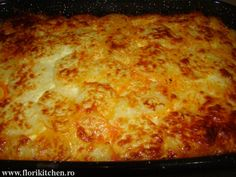 Musaca de cartofi cu carne – Flori's Kitchen Lasagna, Macaroni And Cheese, Dinner, Ethnic Recipes, Food, Dining, Mac And Cheese, Food Dinners, Lasagne