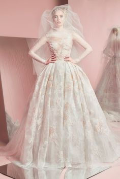 Vestido de noiva Zuhair Murad - Bridal Spring Summer 2016 - Pia