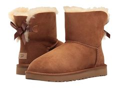 Get the must-have boots of this season! These UGG Australia Chestnut Womens Mini Bailey 1016501 Boots/Booties Size US 8 Regular (M, B) are a top 10 member favorite on Tradesy. Save on yours before they're sold out! Ugg Boots Outfit, Bow Boots, Ankle Boots, Ugg Mini Bailey Bow, Uggs With Bows, Mini Baileys, Boots For Sale, Ugg Boots Sale, Hot Shoes