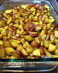 Roasted Lemon Herb Potatoes. Flavoring with Lemons Instead of Salt.