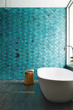 Mermaid Tiles - The Top Summer Interior Trends, According To Pinterest - Photos