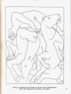 picasso line drawings - Google Search