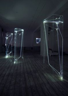 #INSTALLATIONART http://inspirationfeed.com/inspiration/artists/fiber-optic-installations-by-carlo-bernardini/