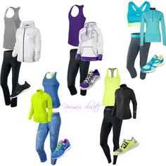 Exercise outfit ideas!!
