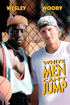 white men can't jump - spending the afternoon with poorly Dad. I was wondering if this film would ever end!