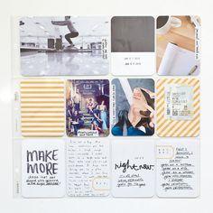 Digital Project Life Creative Mess Card Set by bigcityquiet