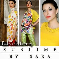 Sublime by Sara Eid Dress Collection 2014 | Summer Collection for Girls - She9 | Change the Life Style
