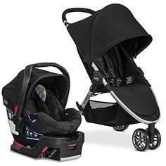 Black Britax 2016 B Agile Safe 35 Travel System About The