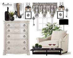 """""""Serenity"""" by bcurryrice on Polyvore featuring Heathfield & Co., J. Queen New York, XVL, Varaluz, Jonathan Adler, Oliver Gal Artist Co., CB2, Graham & Brown, Dot & Bo and Nordstrom"""