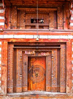 Vashisht Temple, Manali, India (by Francesco Pavanetto) door....those colors !!!!