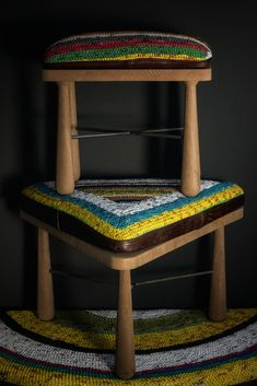 For his debut furniture collection under the brand Mitsotso, Kehumile Mate has embraced his African heritage and incorporated his grandmother's eco-weaving.