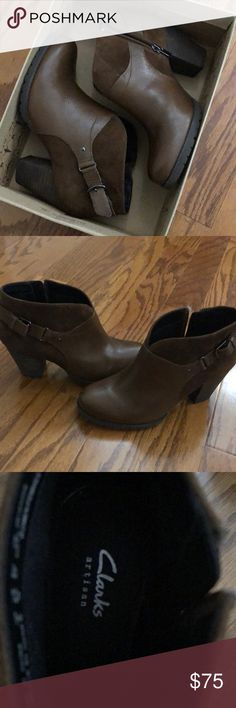 NWT Clark's Booties Beyond comfortable - purchased the wrong size. Never worn. Clarks Shoes Ankle Boots & Booties