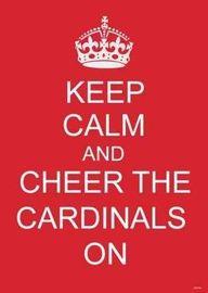 love cardinal baseball