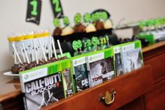 make playing the games part of the party the boys will love it! #videogames #birthday #party