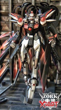 GUNDAM GUY: 1/100 Wing Zero Custom Devil - Customized Build