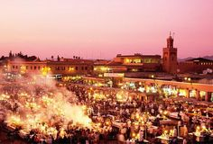 Markets in Marrakech