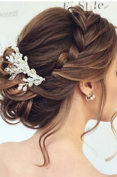 wedding hairstyles for bridesmaids #weddinghairstyles