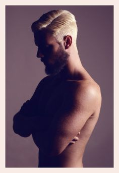 love, men, nude, beards, hair, photography, blonde, brunette and golden skin….
