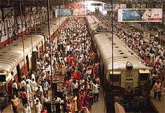 Bombay: alto crecimiento poblacional