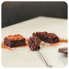 Brownie de Chocolate sem glúten/lactose | Vídeos e Receitas de Sobremesas
