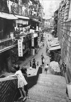 Shanghai City, Old Shanghai, Antique Photos, Vintage Photographs, Old Pictures, Old Photos, History Of Hong Kong, Fan Ho, British Hong Kong