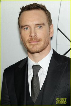 Michael Fassbender would love some cuddle time with you.
