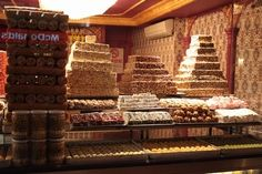 Sweets shop in Istanbul.